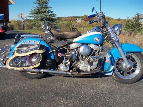 1957 Harley Davidson Panhead by 1957 Flh Harley Davidson Panhead Original Paint Survivor