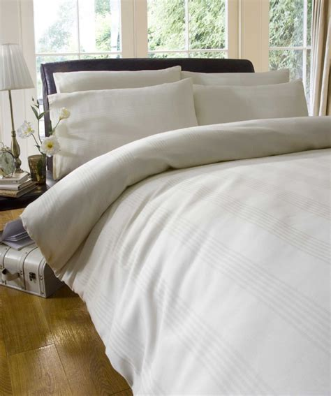 cream comforters jacquard cotton cream white duvet set quilt bedding ebay