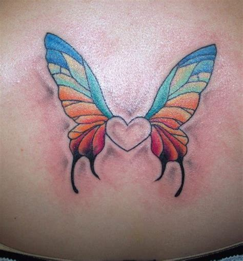 tattoo butterfly with heart butterfly heart tattoo picture