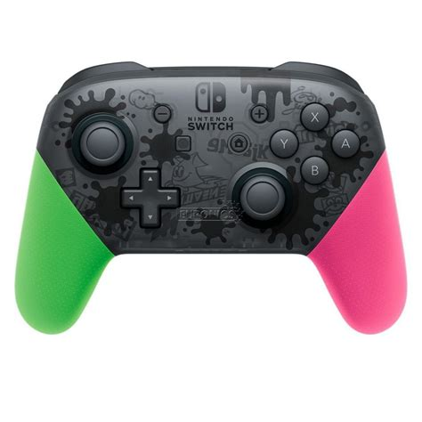 Promo Pro Controller Switch nintendo switch manette pro controller splatoon 2 edition