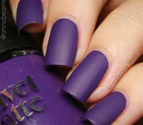 matte purple nail top 100 matte nail designs