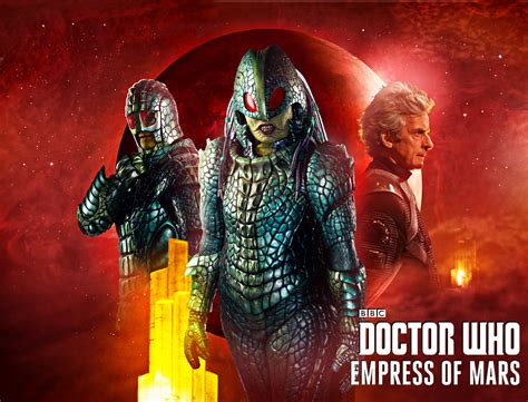 The Empress Of Mars doctor who empress of mars by esterath13 on deviantart