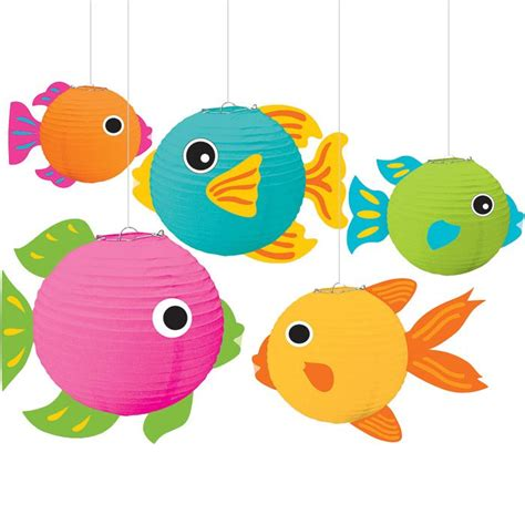 How To Make Paper Lantern Fish - 17 best images about vbs 2016 on paper