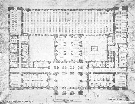 new york library floor plan great buildings image new york public library