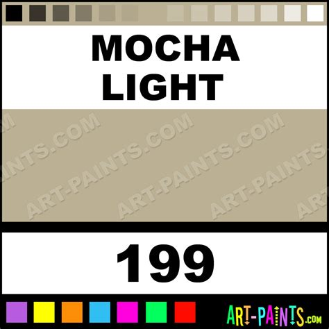 mocha light paint 199 by prismacolor four in one paints brown hairs