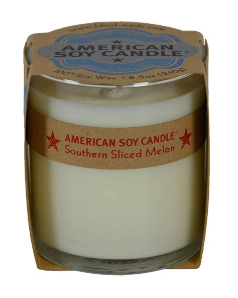 candele americane american soy candle southern sliced melon all