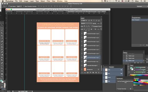 Vertical Line Sheet How To Create A Line Sheet Custom Line Sheet Line Sheet Template Photoshop