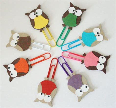 paper clip craft ideas owl paper these hobby paper