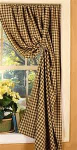 Curtain Pair Country Curtains On Pinterest Burlap Curtains Primitive