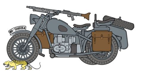 Modell Motorrad Mit Beiwagen by Deutsches Motorrad Mit Beiwagen 1 48 Tamiya 32578