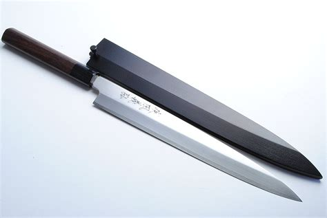 japanese kitchen knives review review yoshihiro vgya240sh stainless hongasumi yanagi