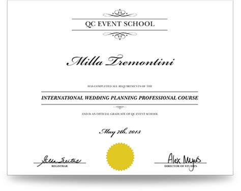 event planning home study courses home plan