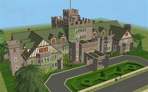 Housing Blueprints Floor Plans mod the sims hatley castle victoria b c no cc