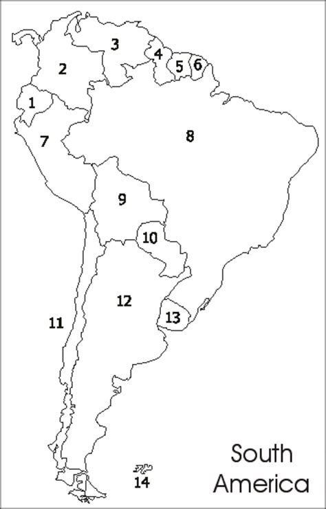 blank map of south america blank map south america central america