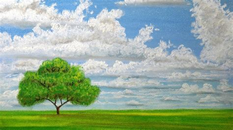 Landscape Pictures To Draw And Paint How To Draw Clouds With Pastels