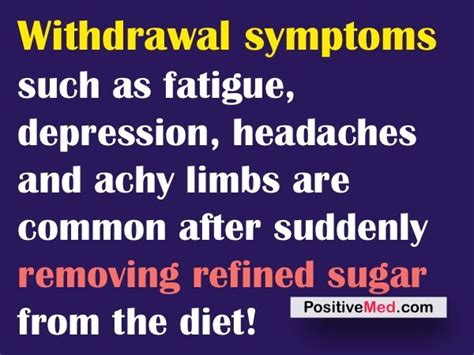 Detox Symptoms From Quitting Sugar by Sugar Withdrawal Healthy Lifestyle