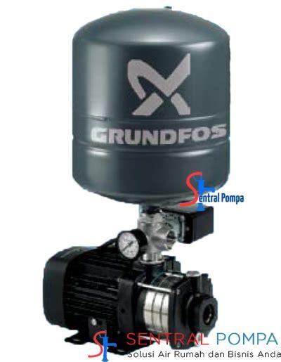 Grundfos Cm Pt 3 3 pompa booster multistage tipe cm 3 3 pt sentral pompa