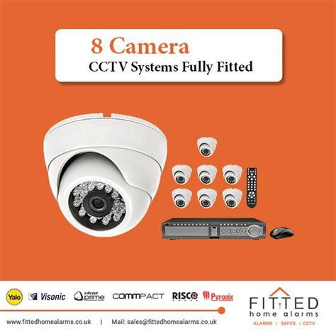 8 cctv systems fully fitted fitted home alarms
