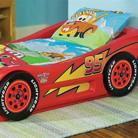 little tikes lightning mcqueen bed little tikes lightning mcqueen roadster toddler bed by oj