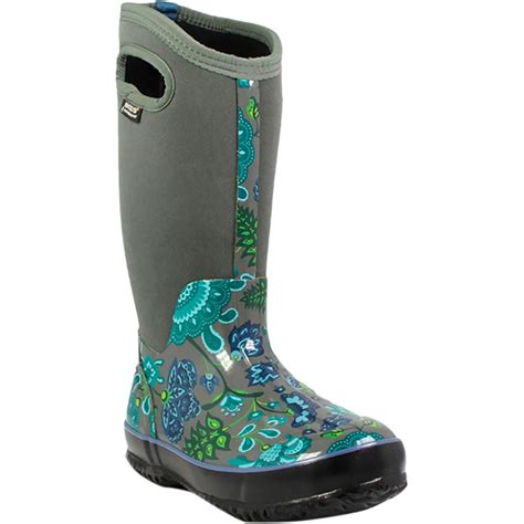 bogs winter boots bogs classic winter blooms boot s