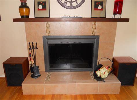 fireplace refacing perennial garden lover