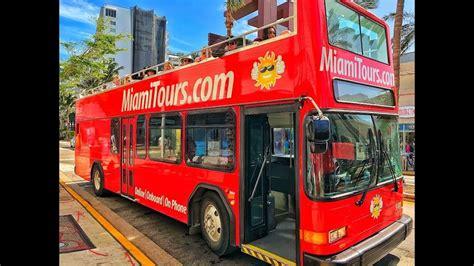 boat tour youtube miami double decker bus tour miami boat tour youtube