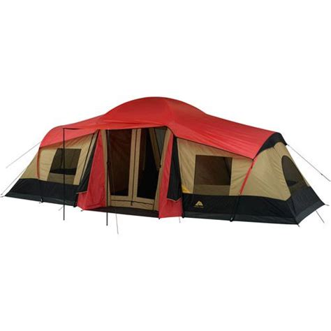 ozark trail 10 person 3 room cabin tent ozark trail 10 person 3 room xl cing tent