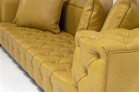 fat boy couch www roomservicestore com tufted fat boy sofa in gold