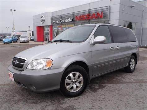 Kia Sedona 2005 Price 2005 Kia Sedona Ex Peterborough Ontario Used Car For Sale