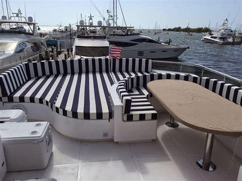 boat cushions miami boat interior cushions custom boat upholstery and