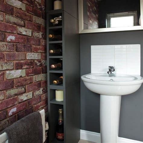 wallpaper bathroom designs 33 bathroom designs with brick wall tiles home