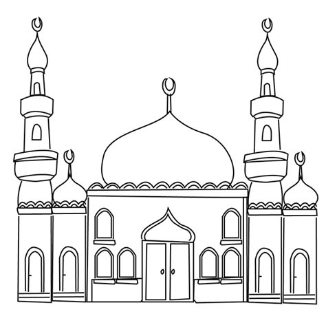 mosque pledge cards template ramadan colouring pages ramadan mosque and eid