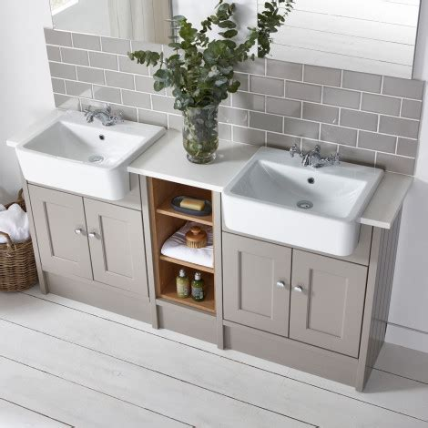 Burford mocha fitted bathroom furniture roper rhodes