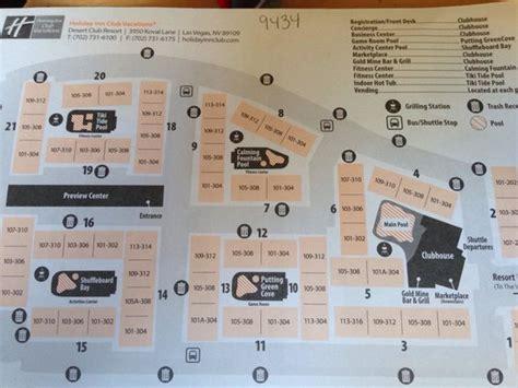 inn club vacations at desert club resort floor plans map of resort picture of inn club vacations las