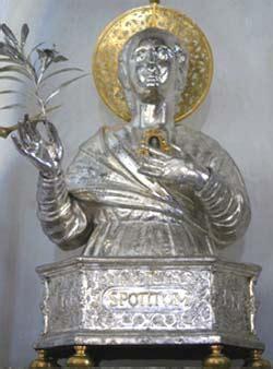 messa ufficio s potito martire patrono della citta e della diocesi di