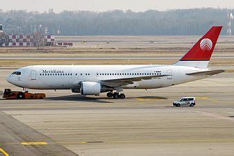 boeing 767 interni meridiana azienda