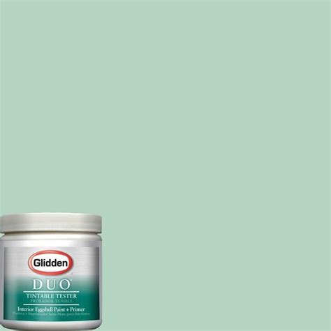 glidden duo 8 oz msl129 martha stewart living sea glass interior paint sle contemporary