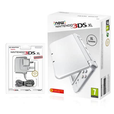 Kaset Nintendo 3ds White new nintendo 3ds xl pearl white nintendo official uk store