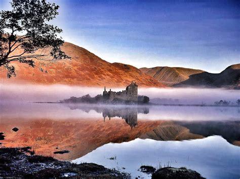 Amazing Garden by Scotland Loch Lomond And The Trossachs National Park 2
