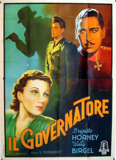 governatore italia quot governatore il quot poster quot der gouverneur quot poster