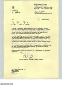 Letter To Fallon fallon quits as defence after apology for