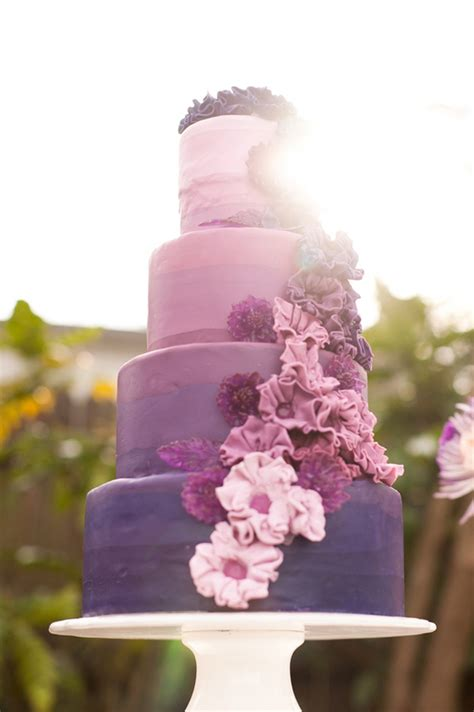 Hochzeitstorte Ombre by 15 Fabulous Ombre Wedding Cakes The Magazine