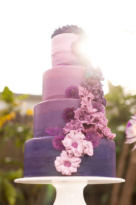 Hochzeitstorte Ombre 15 fabulous ombre wedding cakes the magazine