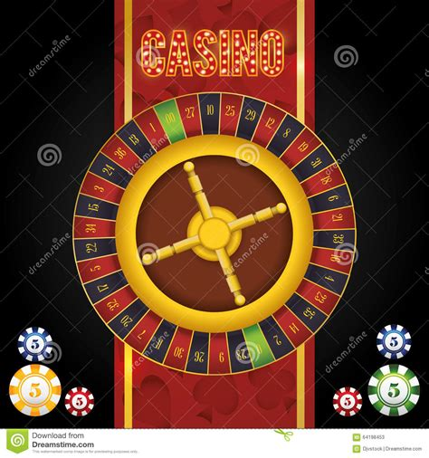 design concept las vegas casino icons design stock illustration image 64198453