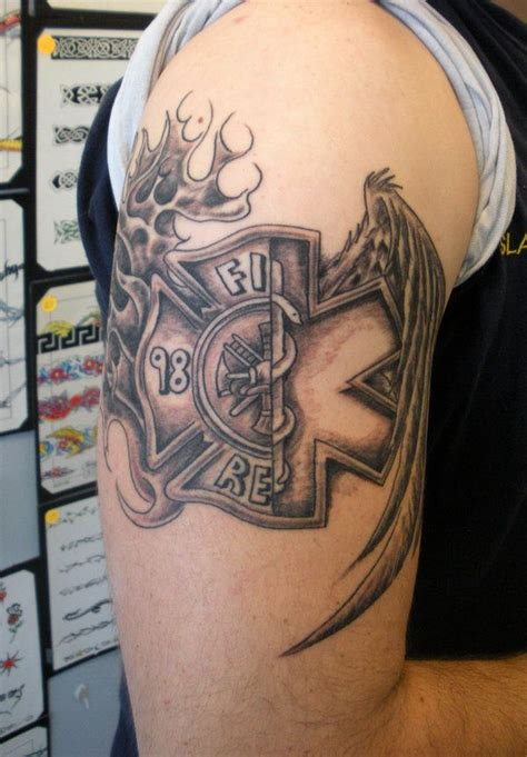 fire ems tattoo designs para cross by painlessjames on deviantart tattoos