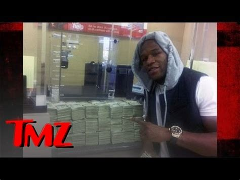 floyd mayweather money bag ridiculousness floyd mayweather withdrawals two million dollars tmz