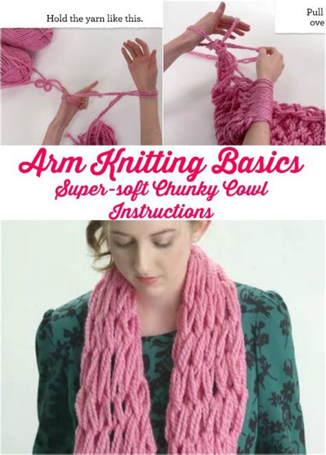 easy arm knitting fancy 45 minutes diy arm knitted blanket