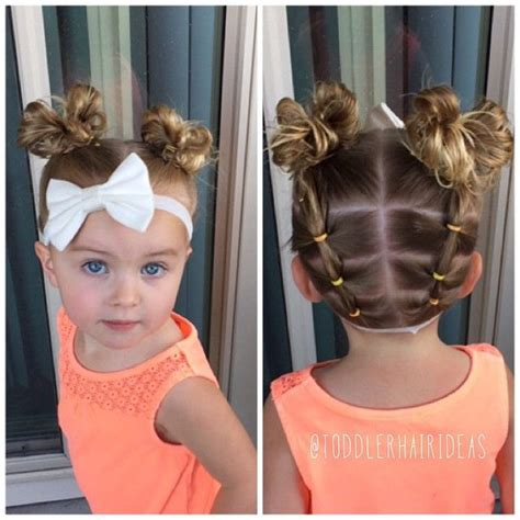 Hairstyles For Toddlers With Hair by Best 25 Easy Toddler Hairstyles Ideas On Kid