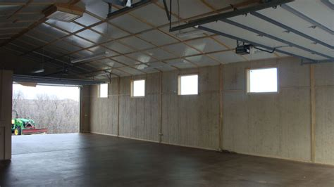 Finished Garages Interior by Inside Images Of Finished Pole Barns Studio Design