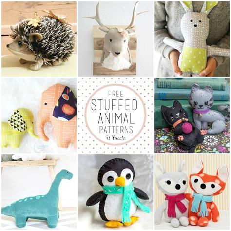 animal doll tutorial free stuffed animal patterns the cutest u create